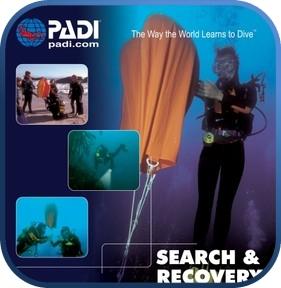 Curso PADI de instructor de búsqueda y recuperación