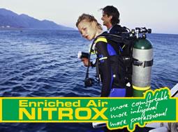 Curso PADI de Instructor de Aire Enriquecido - NITROX
