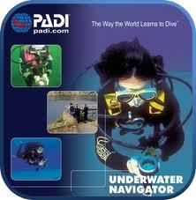 Curso PADI de Instructor de Navegación Subacuática
